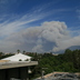 Smoke from the 160,000 acre Station Fire